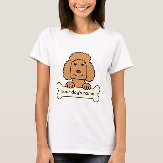 Personalized Poodle T-Shirt