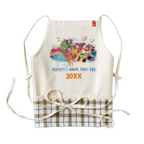 Personalized Pop Art Retro Summer Beach Apron