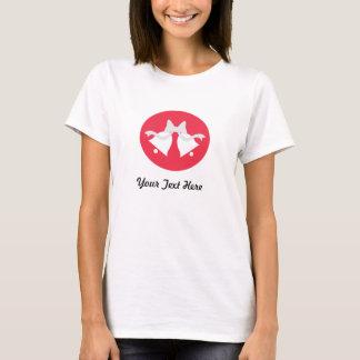 Personalized Poppy Wedding Bells T-Shirt