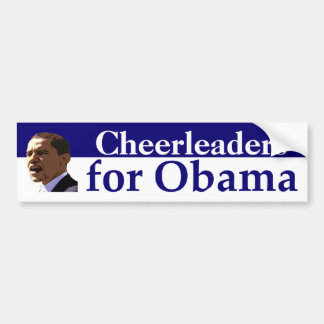 Personalized Portrait Bumper Sticker for Obama Car Bumper Sticker