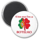 Personalized Portuguese Kiss Me I'm Botelho Magnet