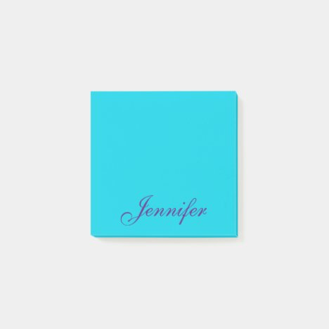 Personalized Post it Sticky Notes