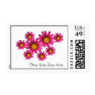 Personalized Postage Stamps Template