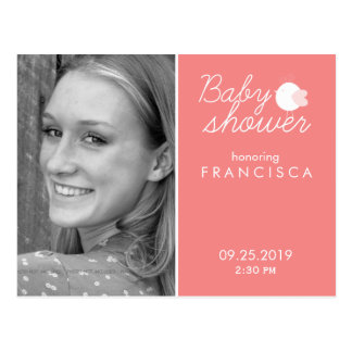 Personalized Postcard Invitations for Baby Shower