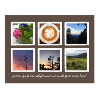 Personalized Postcard with Your Instagram Photos