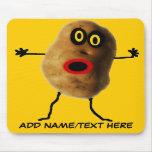 Personalized Potato Cartoon Mousepads