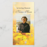 """Personalized Prayer Card / Prayer Cards<br><div class=""""desc"""">This Personalized Prayer Card is a great way to celebrate your loved one. Its a great keepsake for those attending the memorial service!   Size: 8x4 Printed on High Glossy Cover Paper  Customize or Personalize it all if you&#39;d like!</div>"""