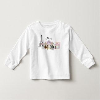 Personalized Pretty Ponies Paris Horse T-Shirt