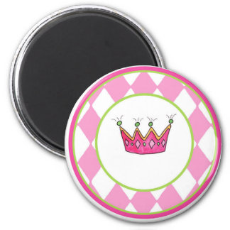 Personalized Princess 2 Inch Round Magnet