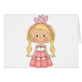 Personalized Princess accessories and apparel Card