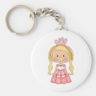 Personalized Princess accessories and apparel Keychain