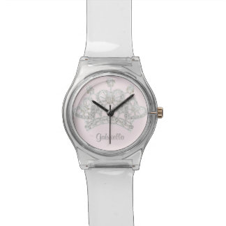 Personalized Princess Crown Wristwatch