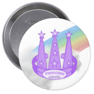 Personalized: Princess Party Button