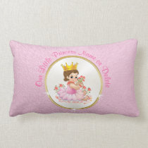 Personalized Princess Pillow, Your Text or Photo Lumbar Pillow