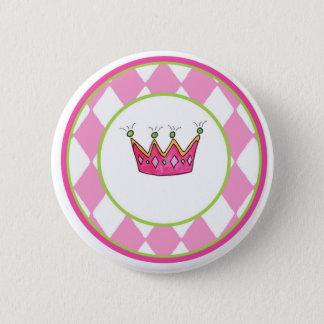 Personalized Princess Pinback Button