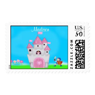 Personalized  Princess Postage Stamp