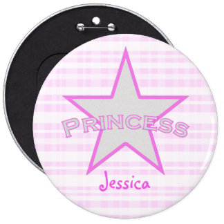 Personalized: Princess Star: Button