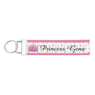 Personalized Princess Wrist Keychain
