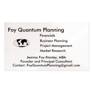 Personalized Profile Card. Double-Sided Standard Business Cards (Pack Of 100)
