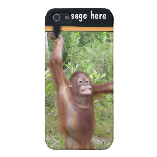 Personalized Protest Sign Great Ape Cover For iPhone SE/5/5s