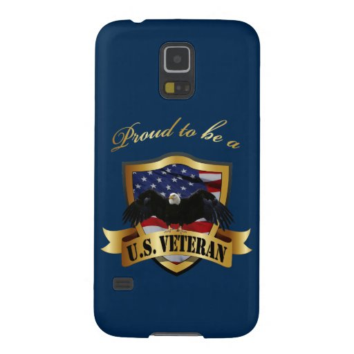 Personalized Proud to be a U.S. Veteran Galaxy Nexus Covers