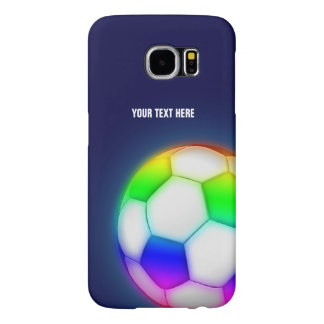 Personalized Psychedelic Soccer | Football Ball Samsung Galaxy S6 Case