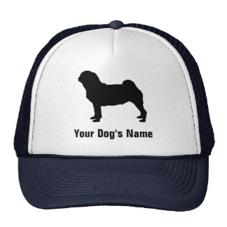 Personalized Pug パグ Trucker Hat