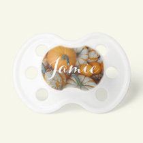 Personalized Pumpkin Pacifier