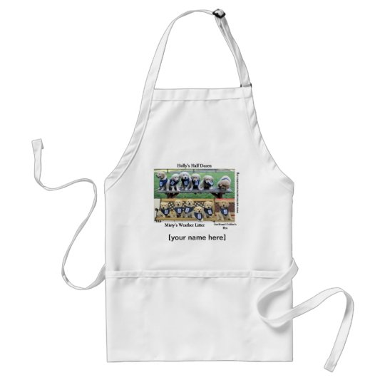 Personalized Puppies of WCC Apron