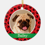 Personalized Puppy Dog Pet Photo Ornament at Zazzle