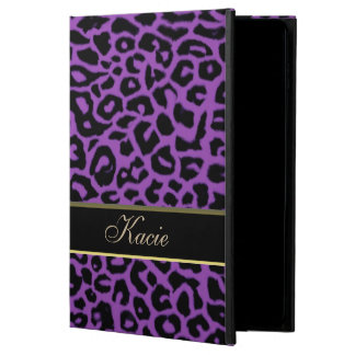 Personalized Purple Animal Leopard iPad Air 2 Case