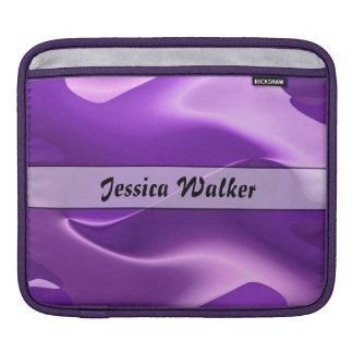 Personalized Purple Flame Abstract Sleeve For iPads