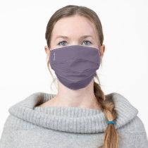 Personalized Purple Grape Cloth Face Mask Cover