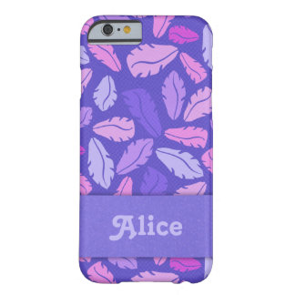 Personalized Purple Leaves Phone Case