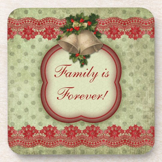 Personalized Quote Coasters Family is Forever