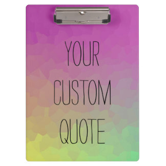 Personalized Quote Gradient Wallpaper Clipboard