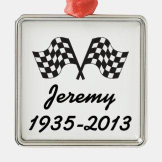 Personalized Racing Ornament Keepsake Gift