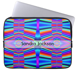 Personalized Rainbow colors Laptop Sleeve