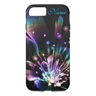 Personalized Rainbow Fractal Flower iPhone 7 case