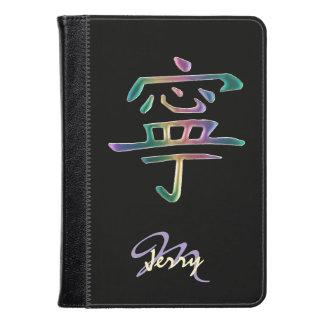 Personalized Rainbow Peace Kindle Case
