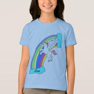 Personalized Rainbow Pegasus Shirt