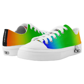 Personalized Rainbow Shoes Printed Shoes