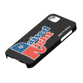 Personalized Raised Right iPhone 5 Cases