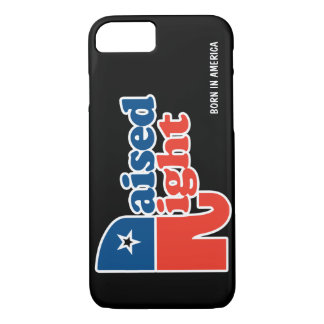Personalized Raised Right iPhone 7 Case