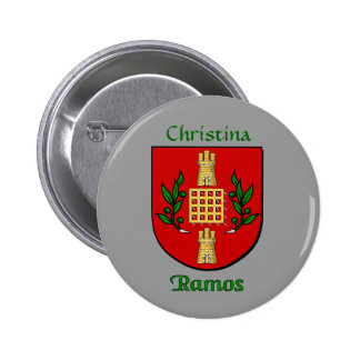 Personalized Ramos Historical Shield Pin