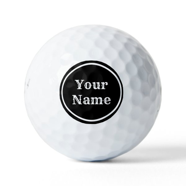 Personalized & Ready to Motivate Golf Balls