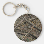 Personalized Real Camo / Camouflage (customizable) Basic Round Button Keychain