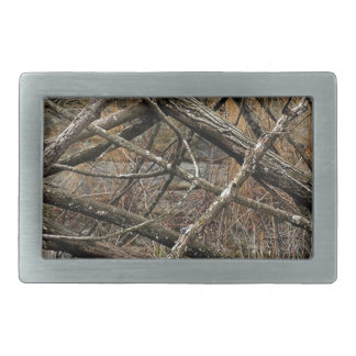Personalized Real Camo / Camouflage (customizable) Rectangular Belt Buckles