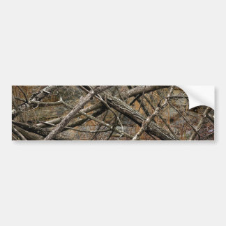 Personalized Real Camo / Camouflage (customizable) Bumper Sticker
