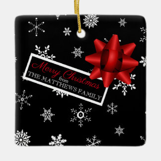 Personalized Realistic Simulated Christmas Gift Ceramic Ornament